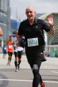 Uwe auf Marathon
