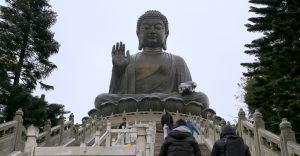 Buddha on Lantau Island