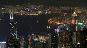 Honk Kong by Night from Peak