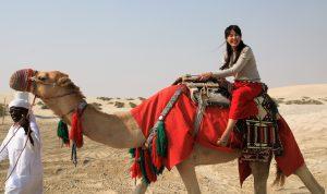 Amys Traum: Kamelreiten