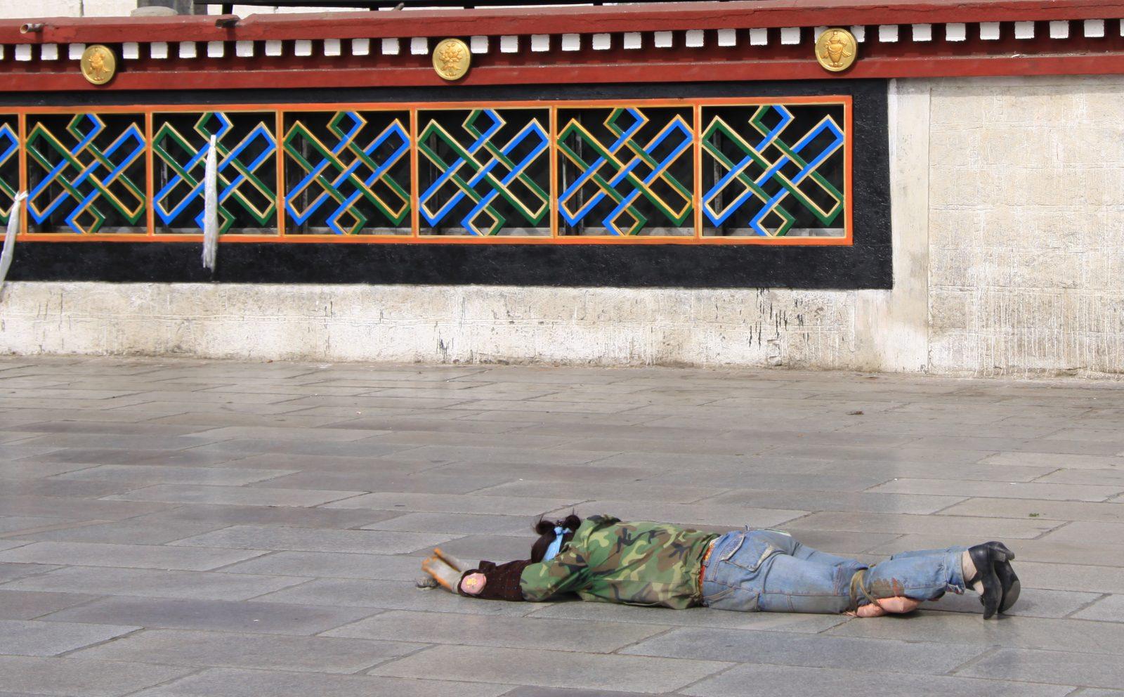 Betender Tibetaner